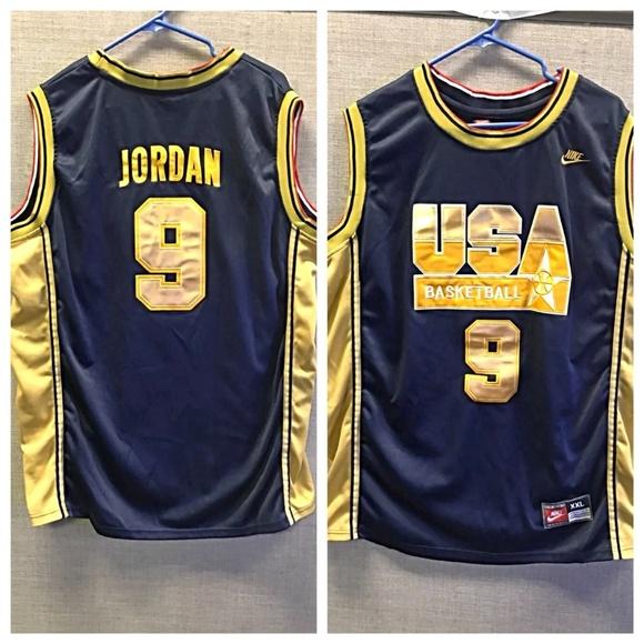 newest collection 72a47 84817 Nike USA Basketball #9 Michael Jordan XL Jersey